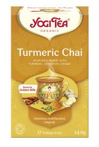 Yogi Tea Złoty czaj z kurkumą TURMERIC CHAI