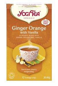 Yogi Tea Imbirowo-pomarańczowa z wanilią GINGER ORANGE WITH VANILLA
