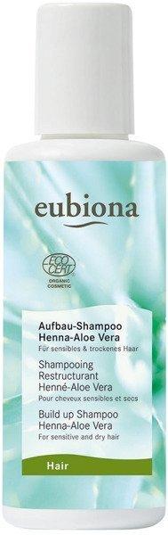 Eubiona Szampon odbudowujący z henną i aloesem 200 ml