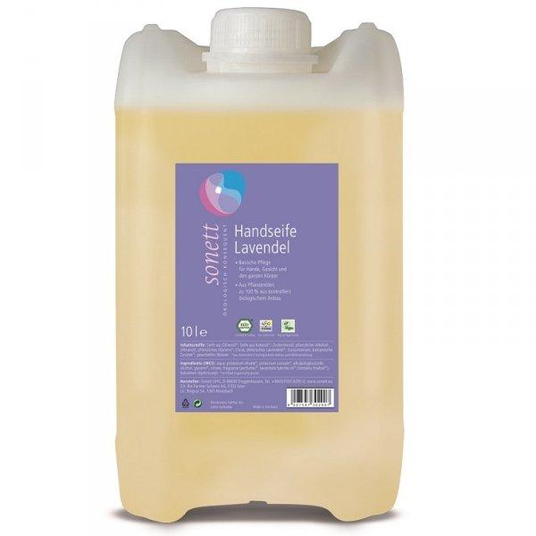 Sonett Mydło w płynie LAWENDA - opakowanie uzupełniające 10 litrów