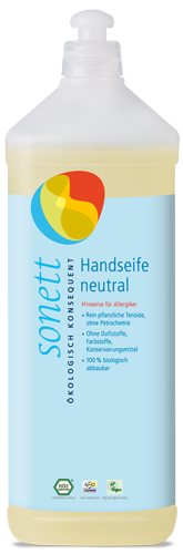 Sonett Mydło w płynie SENSITIV - opakowanie uzupełniające 1 litr
