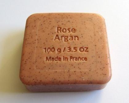 Savon du Midi Mydło peelingujące z olejem arganowym i różą 100 g