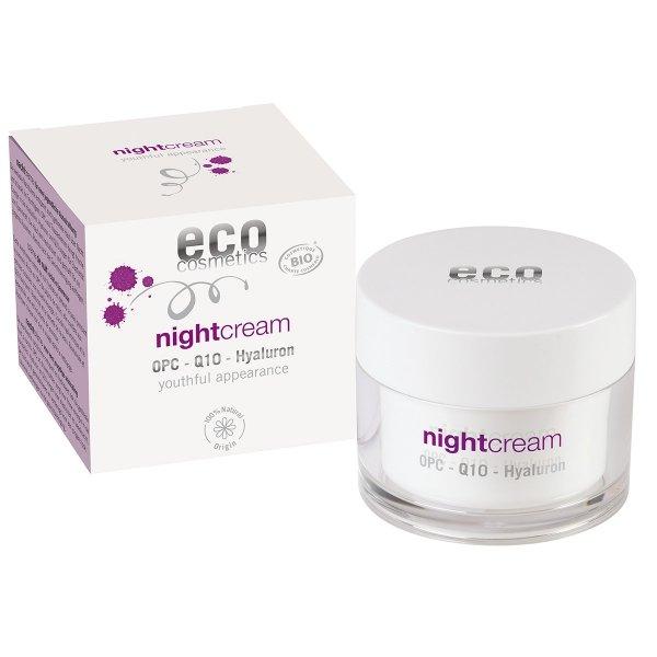 ECO Cosmetics ECO NIGHT Krem na noc z OPC, Q10 i kwasem hialuronowym 50ml