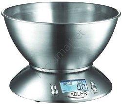 Waga kuchenna elektroniczna z misą Adler AD 3134 ***NISKI KOSZT DOSTAWY*** BEZPŁATNY ODBIÓR OSOBISTY!!!