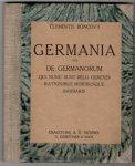 [Bąkowski Klemens] Clemens Boncovius - Germania sive de germanorum qui nunc sunt belli gerendi rationibus moribusque Barbaris.