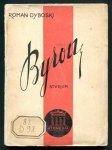 Dyboski Roman - Byron. Studjum