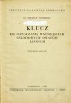 Nunberg Marian - Klucz do oznaczania ważniejszych szkodliwych owadów leśnych.