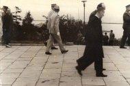 [Charles de Gaulle]. Wizyta generała w Polsce - fotografie sytuacyjne]. [10 IX 1967]