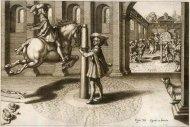[KONIE] PLUVINEL Antoine de - L'Instruction du Roy, en L'Exercice de Monter a Cheval, par ... Franckfurt am Mayn 1670. In Verlagung Matthaei Merians. [RYCINA]. Miedzioryt czarno-biały form. 20x30 cm na planszy form. 31x36,7 cm.