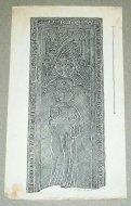 [KRAKÓW, nagrobki głównie krakowskich kościołów]. Zbiór 23 rysunków i odbitek graficznych podobizn nagrobków znanych osobistości z krakowskich kościołów. Ilustracje różnych formatów, od 17,5x8,5 do 30x22 cm (wymiary arkusza).