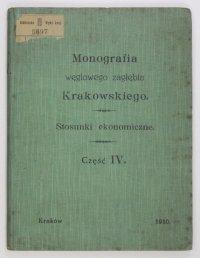 Monografia węglowego zagłębia Krakowskiego. T. 4