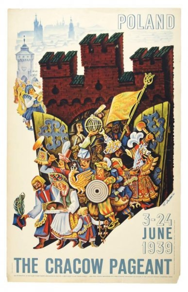 Chomicz Witold - The Cracow Pageant, 3-24 June 1939.