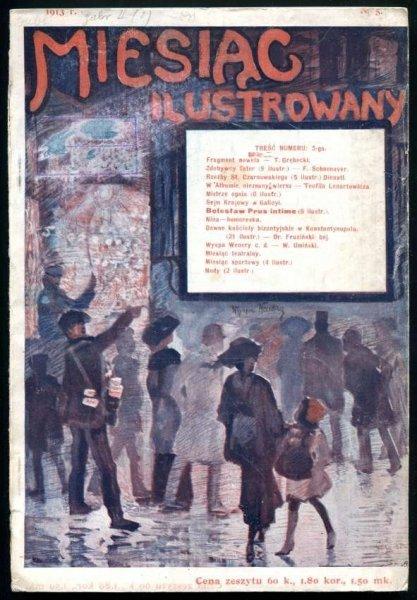 Miesiąc Ilustrowany. R. 2, nr 5: V 1913.