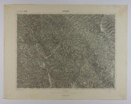 Okormezo - mapa 1:75 000