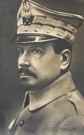 [WOJSKO Polskie - gen. Józef Haller - fotografia portretowa].