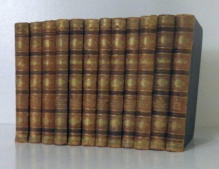 Shakespeare's dramatische Werke nach der Uebersetzung von August Wilhem Schlegel und Ludwig Tieck [...]. 1-12