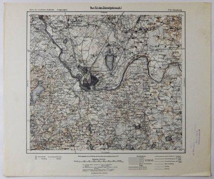 T18. Dunaburg - mapa 1:100 000 [Karte des westlichen Russlands]