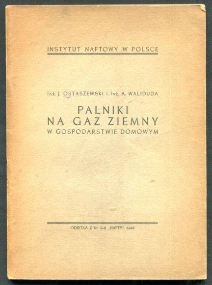 Ostaszewski J., Waliduda A. - Palniki na gaz ziemny w gospodarstwie domowym
