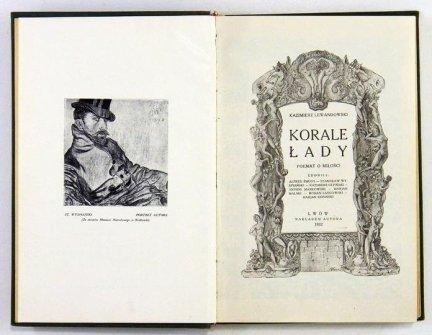 Lewandowski Kazimierz - Korale Łady. Poemat o miłości