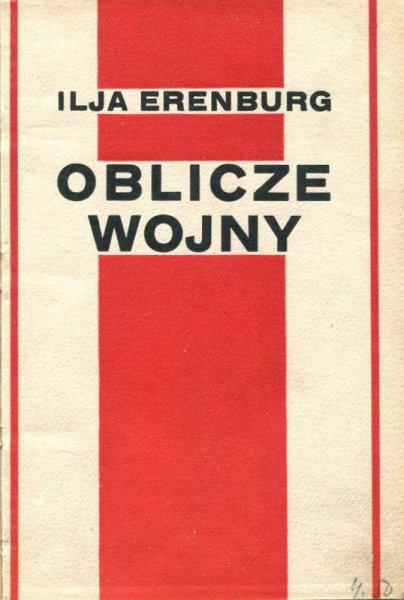 Erenburg Ilja - Oblicze wojny.