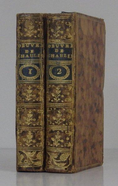 CHAULIEU [Guillaume Amfrye de]. Oeuvre de ..., a'après les manuscrits de l'Auteur. T.1-2. 1777