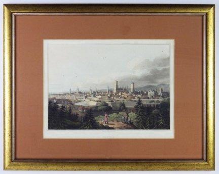 [GDAŃSK]. Dantzic. Panorama miasta z Biskupiej Górki wydana przez Roberta Bowyera w Londynie w 1815
