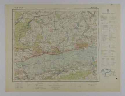 Wyrzysk - mapa 1:100 000