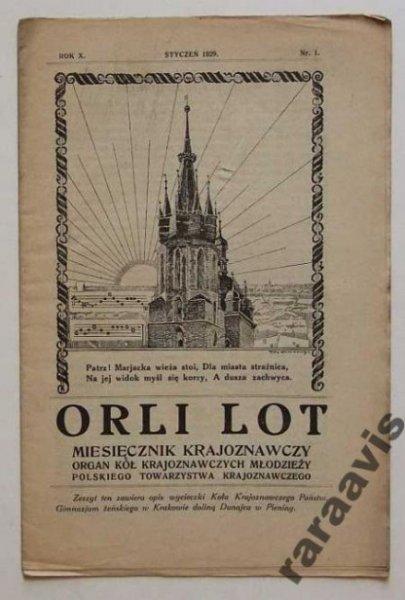 Orli Lot - miesięcznik krajoznawczy R X nr 1 1929