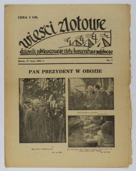 Wieści Zlotowe. Nr 7: 17 VII 1935.