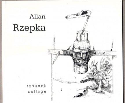 Salon Antykwaryczny Nautilus. Allan Rzepka. Wystawa:  rysunek collage
