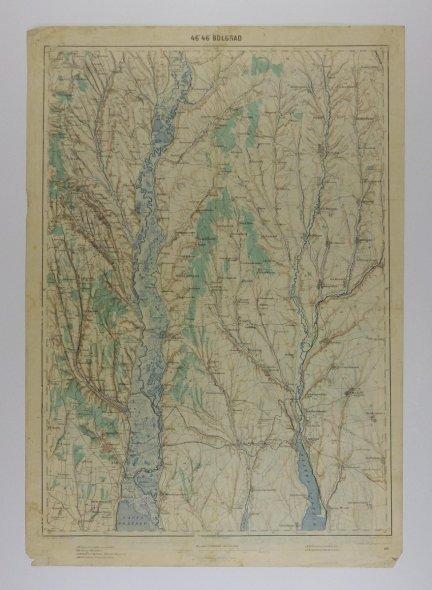 Bołgrad - mapa 1:200 000