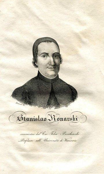 [Stanisław Konarski] Stanislao Konarski - miedzioryt 1831
