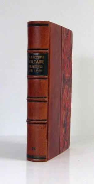 Collection Complette Des Oeuvres de M. de Voltaire. T.45:  Fragmens sur l'Inde, sur le General Lalli, sur le Proces du Comte e Morangies, et sur Plusieurs Autres Sujets. 1779
