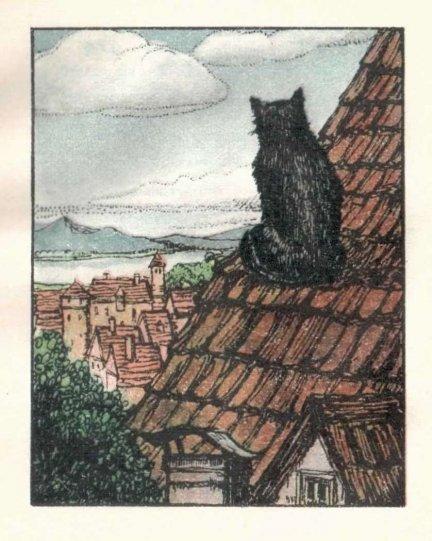 SCHEFFEL J[oseph] V[ictor] von — Lieder aus dem Trompeter von Säkkingen. [pol.: Pieśni z Trębacza z Säkkingen]. Geschrieben u[nd] illustriert von Ida Berisch.