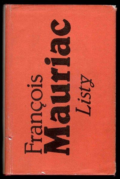 Mauriac Francois - Listy 1904-1969.
