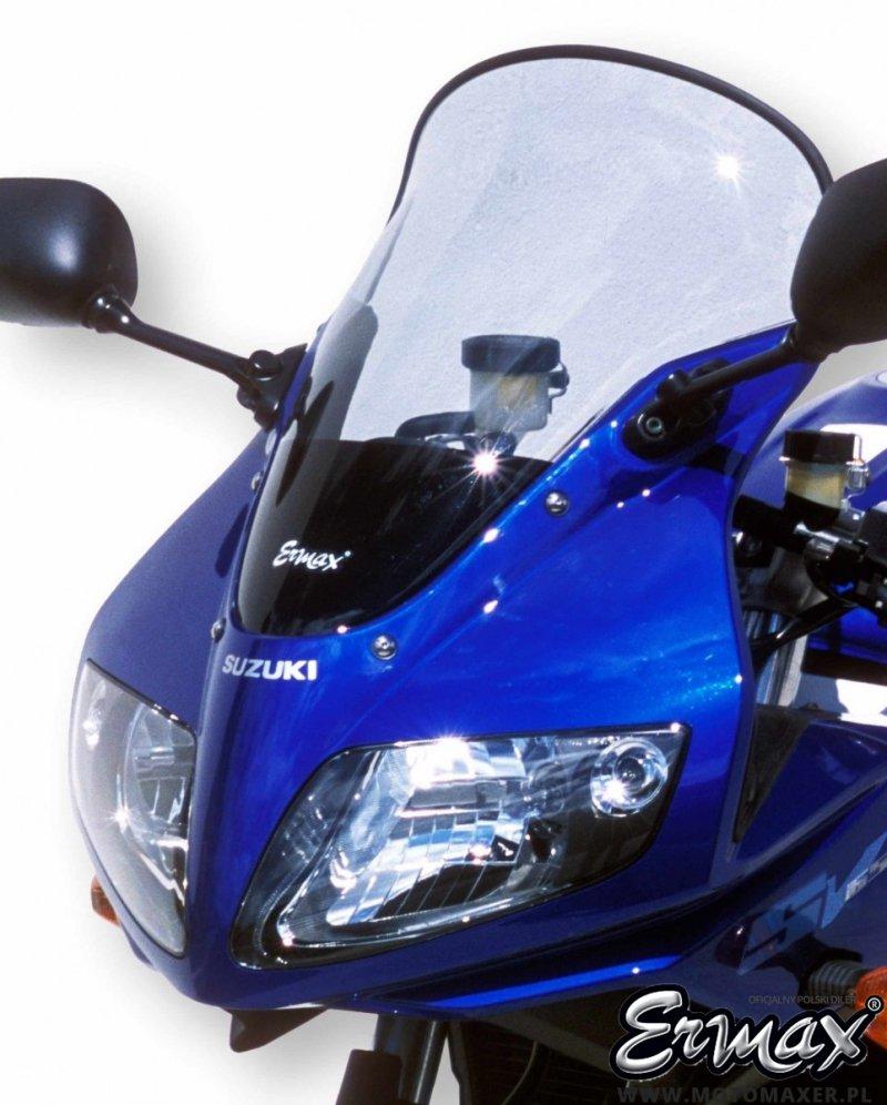Szyba ERMAX HIGH + 8 cm Suzuki SV650S 2003 - 2015
