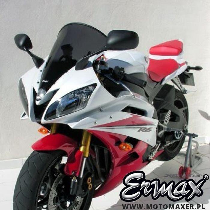 Szyba ERMAX HIGH + 5 cm Yamaha YZF R6 2006 - 2007
