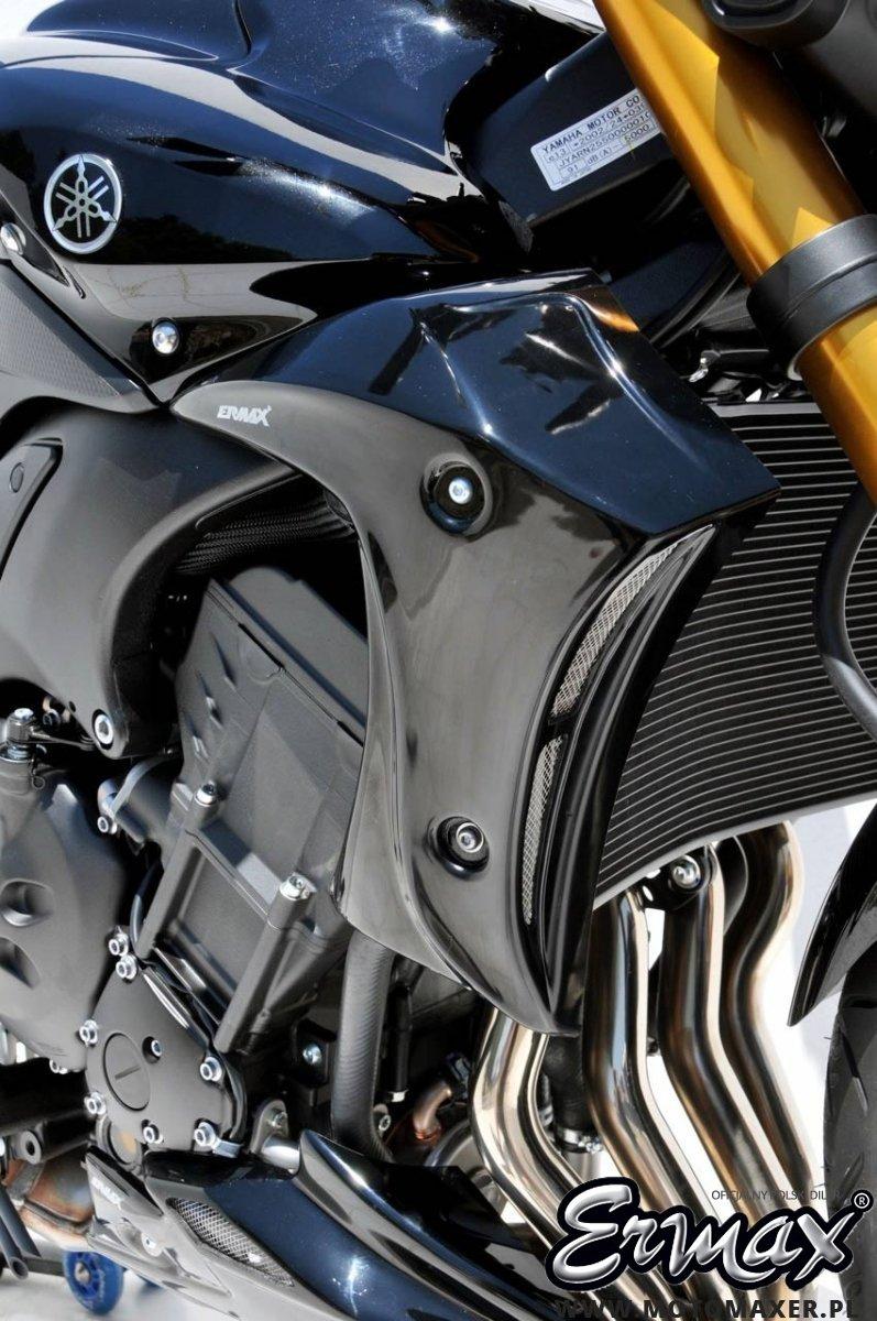 Wloty powietrza osłona chłodnicy AIR SCOOP ERMAX Yamaha FZ8 N NAKED 2010 - 2017