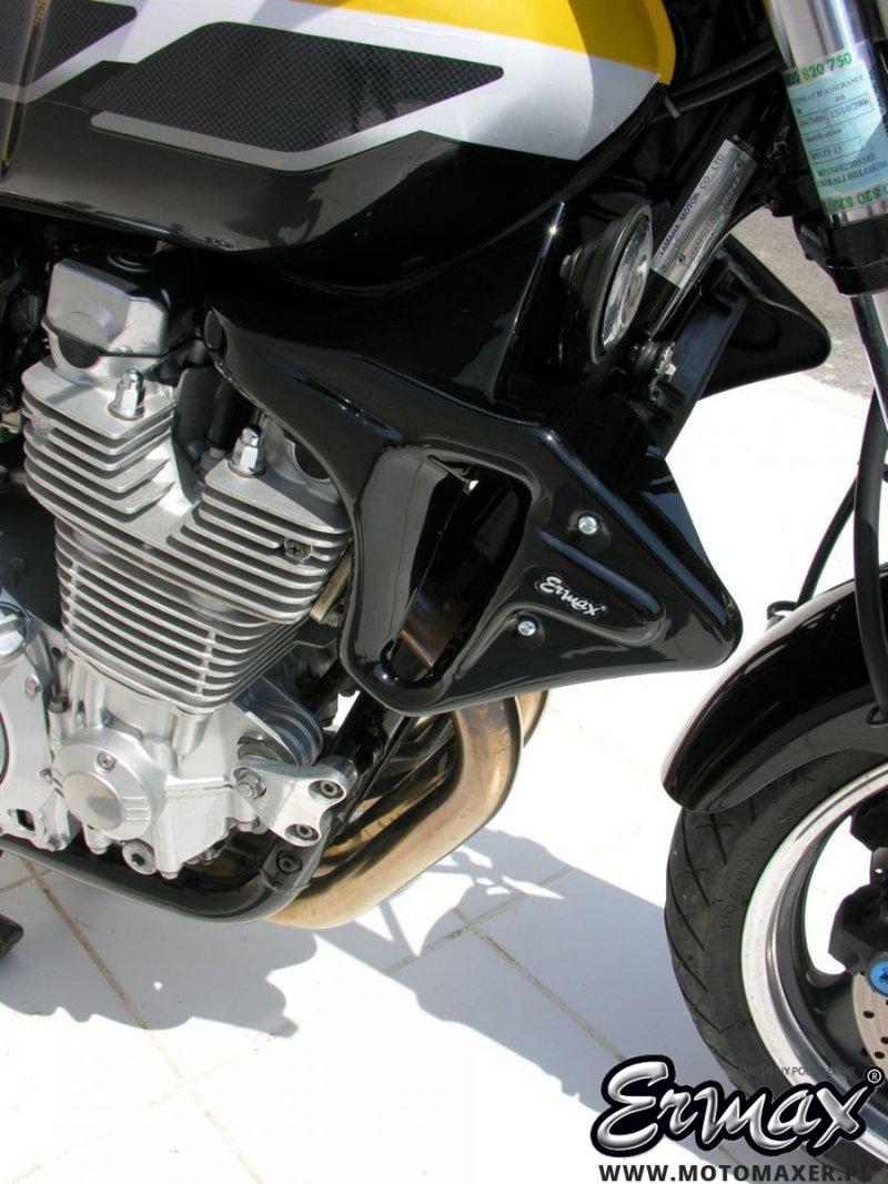 Wloty powietrza osłona chłodnicy AIR SCOOP ERMAX Yamaha XJR1300 1999 - 2014