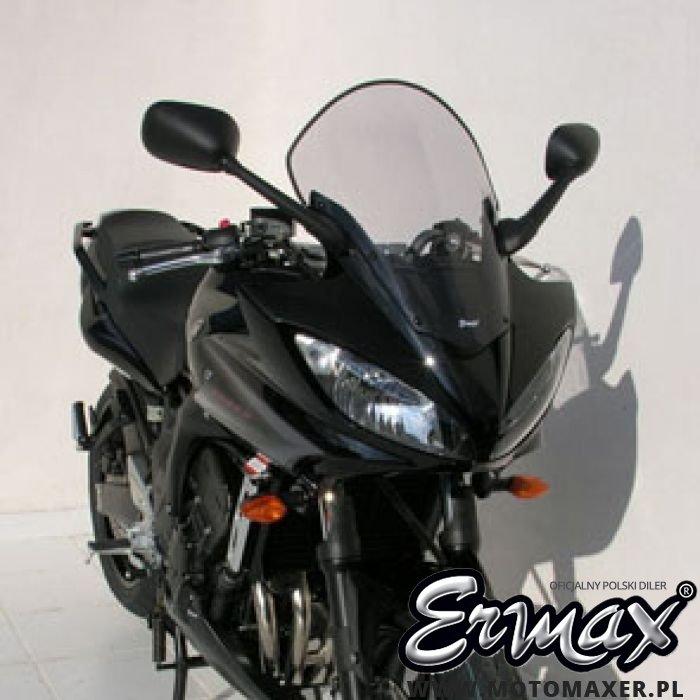 Szyba ERMAX HIGH + 8 cm Yamaha FZ6 FAZER S2 2007 -2010