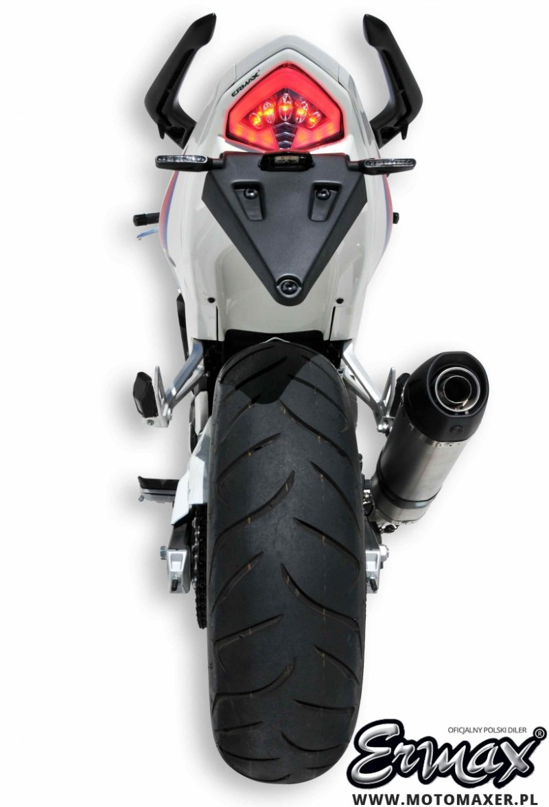 Mocowanie rejestracji + wypełnienie zadupka ERMAX UDT FENDER ELIMINATOR Honda CB500F 2013 - 2015