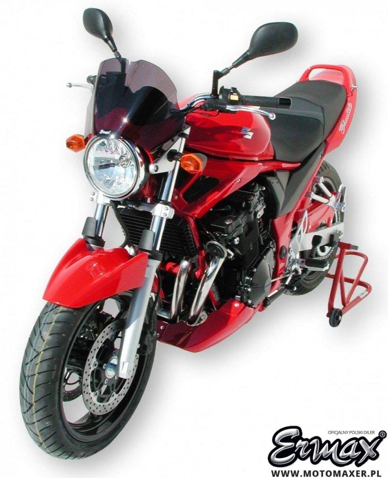Błotnik tylny i osłona łańcucha ERMAX REAR HUGGER Suzuki GSF 650 BANDIT 2005 - 2006 ABS