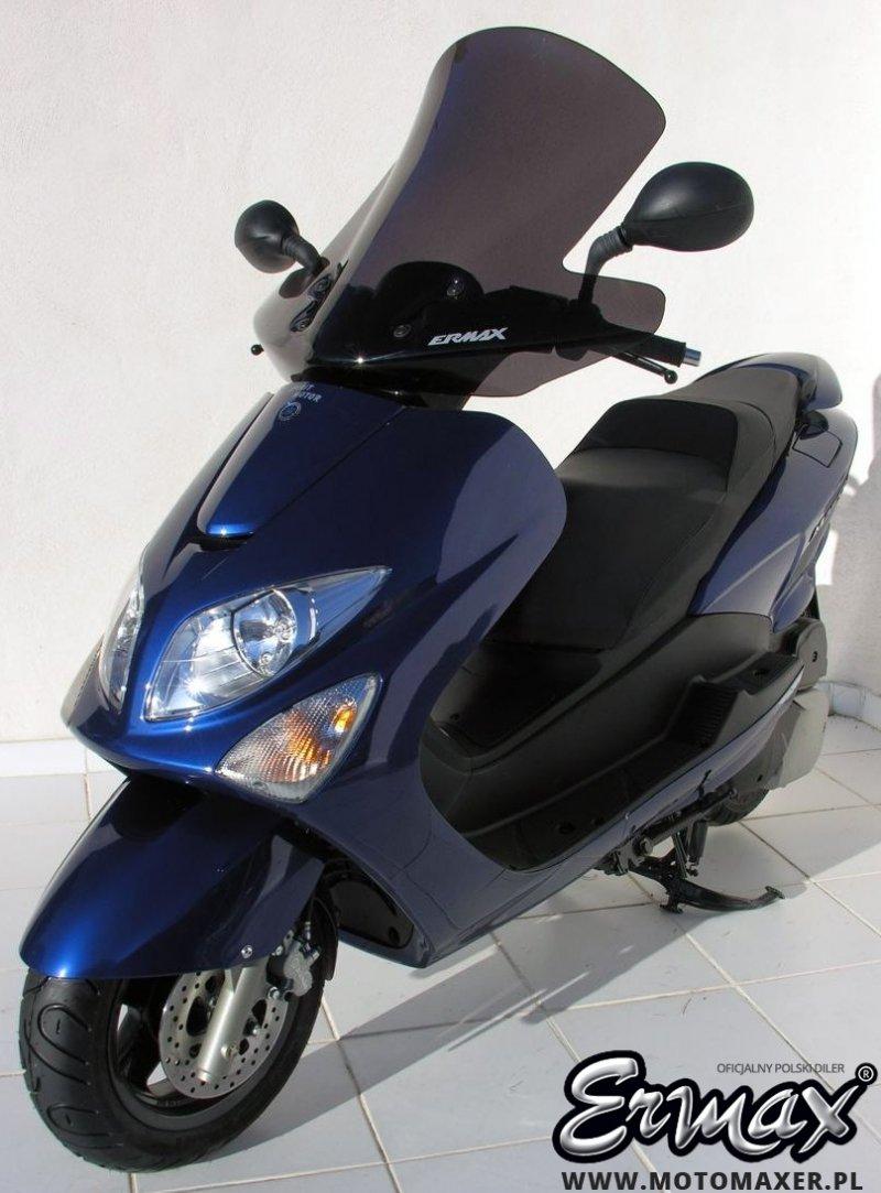 Szyba ERMAX SCOOTER HIGH 58 cm Yamaha MAJESTY 125 2001 - 2012