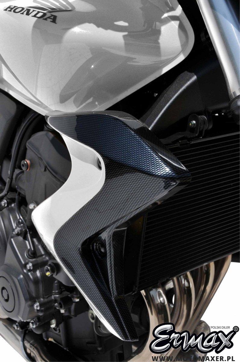 Wloty powietrza osłona chłodnicy BICOLOR AIR SCOOP ERMAX Honda CB600 HORNET 2011 - 2013