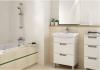 CERSANIT - Bateria umywalkowa stojąca z korkiem VERO Solution S951-042