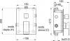 ARMATURA KRAKÓW - HEXA Bateria podtynkowa 3 drożna Quadro 40 4029-411-00