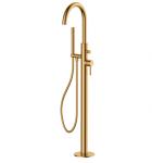 OMNIRES - Bateria wannowa wolnostojąca złota/ gold Y1233GL Y