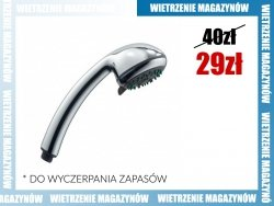 ARMATURA KRAKÓW - Rączka słuchawka do natrysków REA 842-036-00