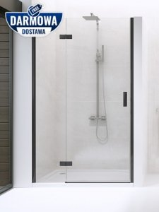 NEW TRENDY - Drzwi wnękowe New Renoma BLACK 120x195  D-0199A  LEWE