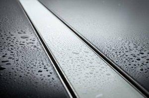 AQUALine - Odpływ liniowy szklany NEMO Szkło Hartowane Białe Rozmiary Różne rozmiary 50-100cm C17WT